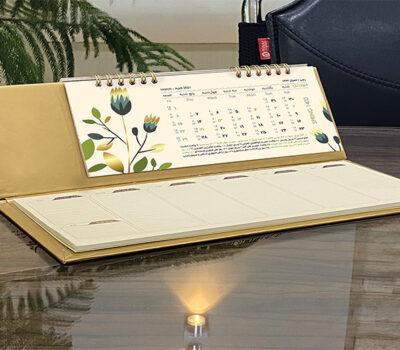 تقویم رومیزی با یادداشت
