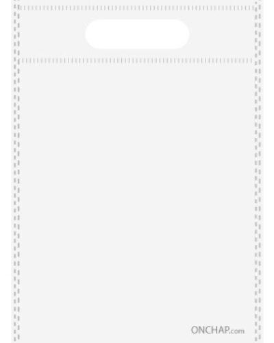 ساک دستی تبلیغاتی پارچه ای سفید