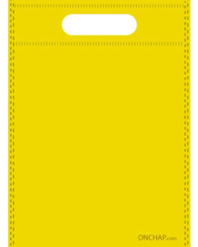 ساک دستی تبلیغاتی پارچه ای زرد