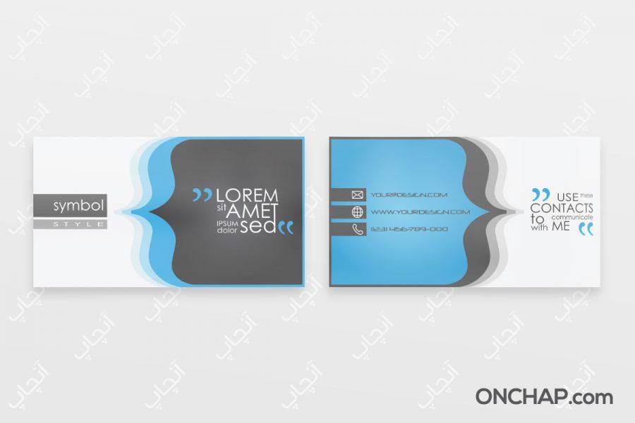 طرح های کارت ویزیت